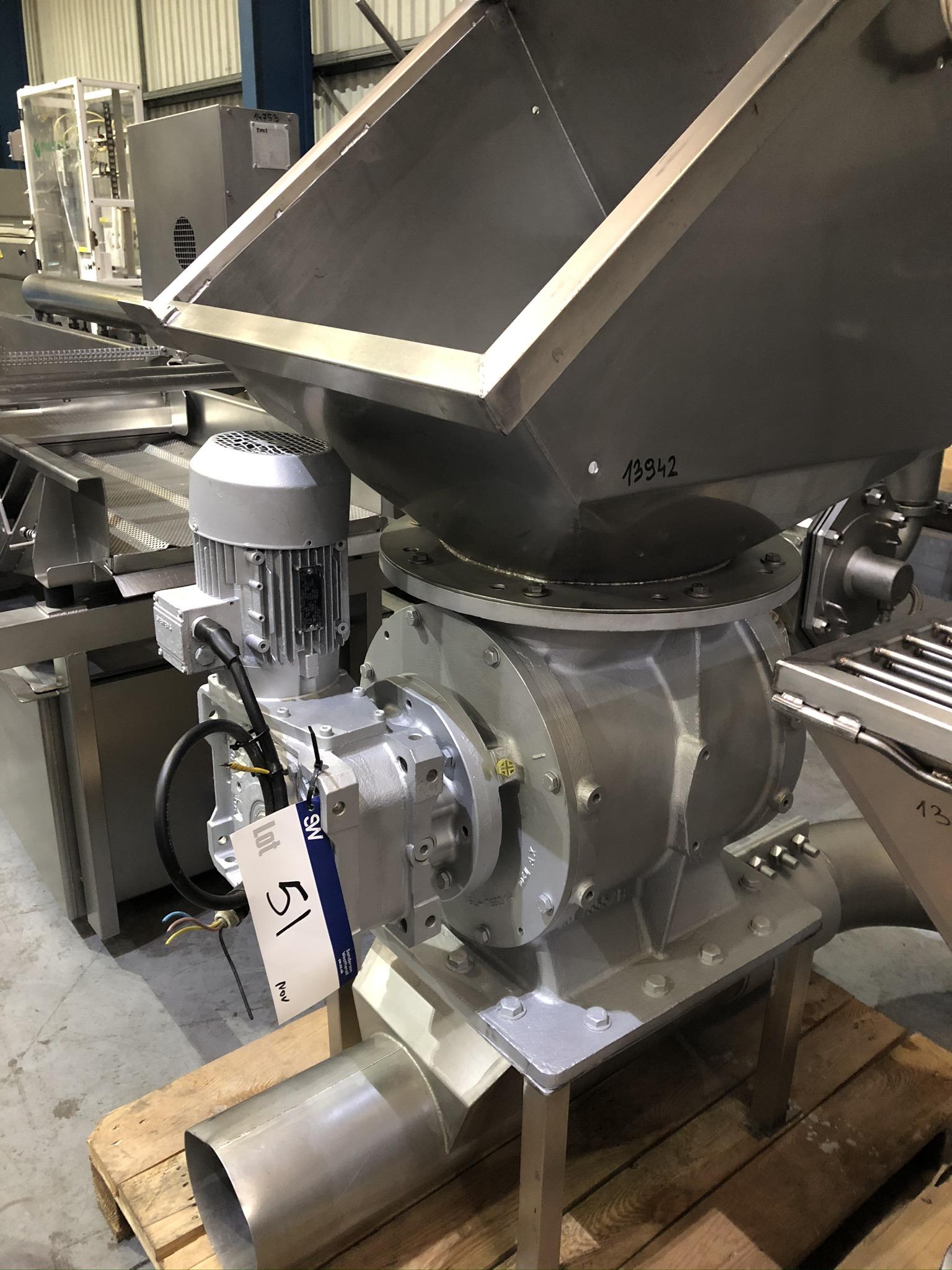 Lot 51 - Bonfiglioli Product Pump - Lacerator, plant no. 51