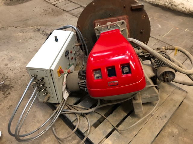 Lot 37 - Riello RL 250 MZ Oil Fired Burner, serial no. 0239