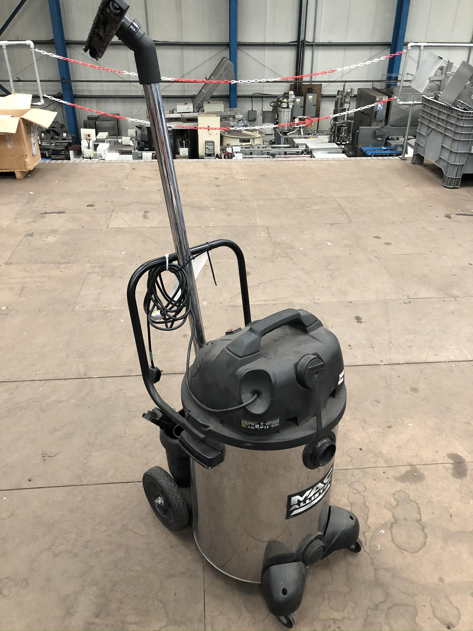 Lot 68 - MacAllister 60L 1800W Wet Dry Vacuum, plant no. 68