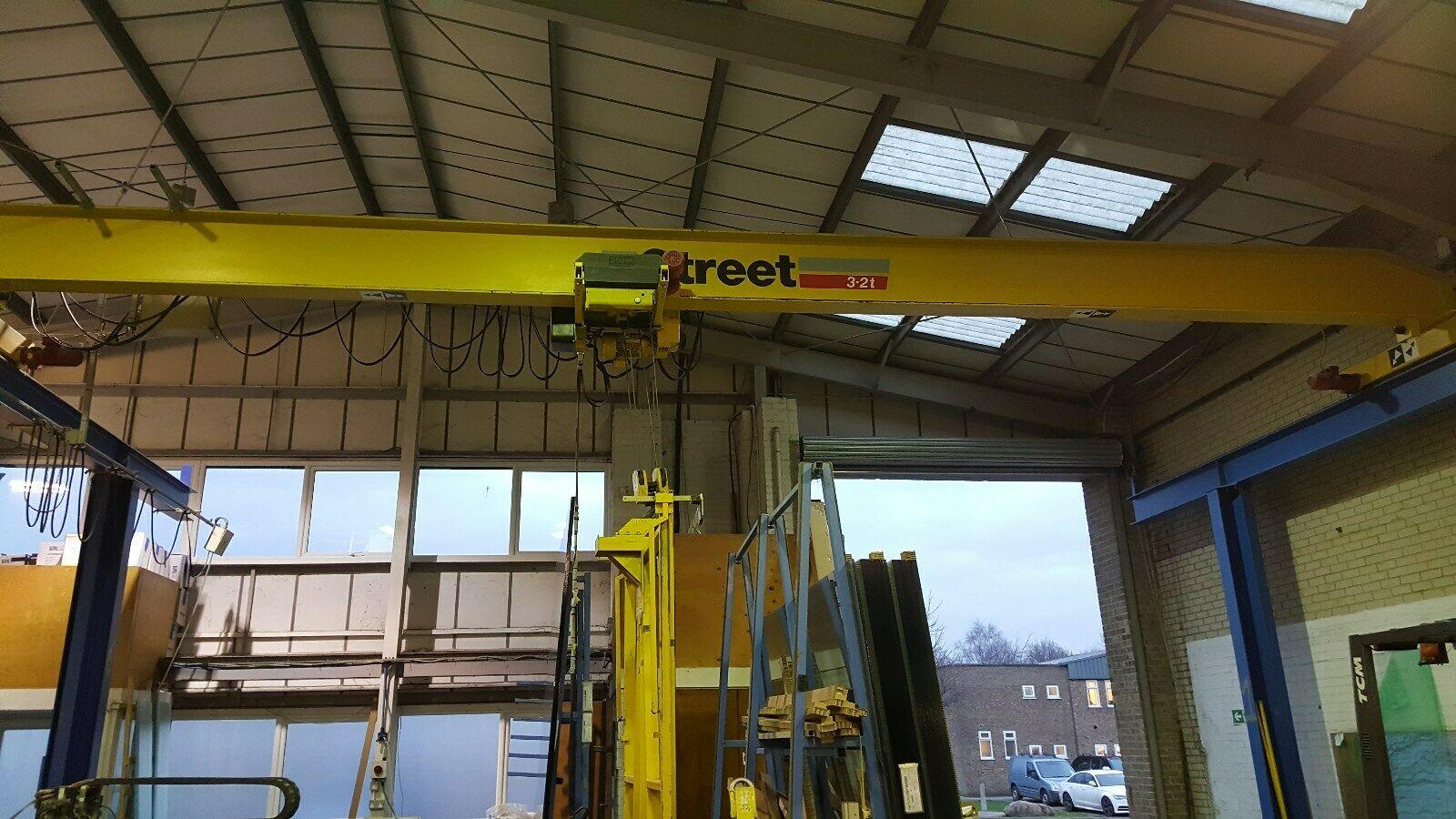 Lot 12 - Street A1 3.2 Ton Overhead Travelling Crane, seria