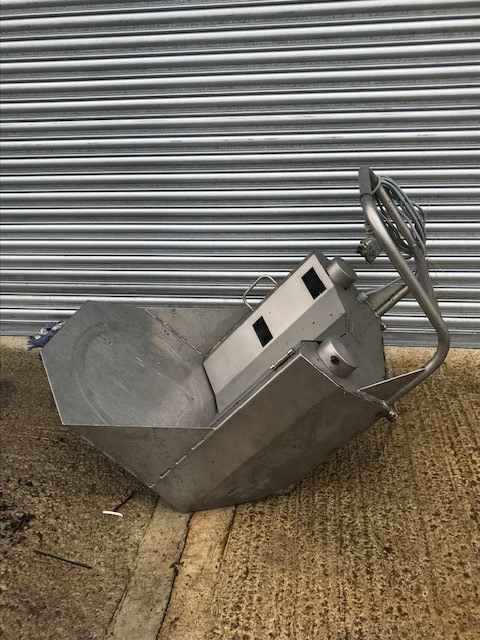 Lot 5 - Stainless Steel 45 gallon Barrel Turner Unit, 3 ph