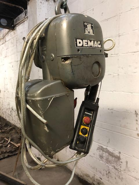 Lot 32 - Demag 550kg Electric Chain Hoist,loading free of