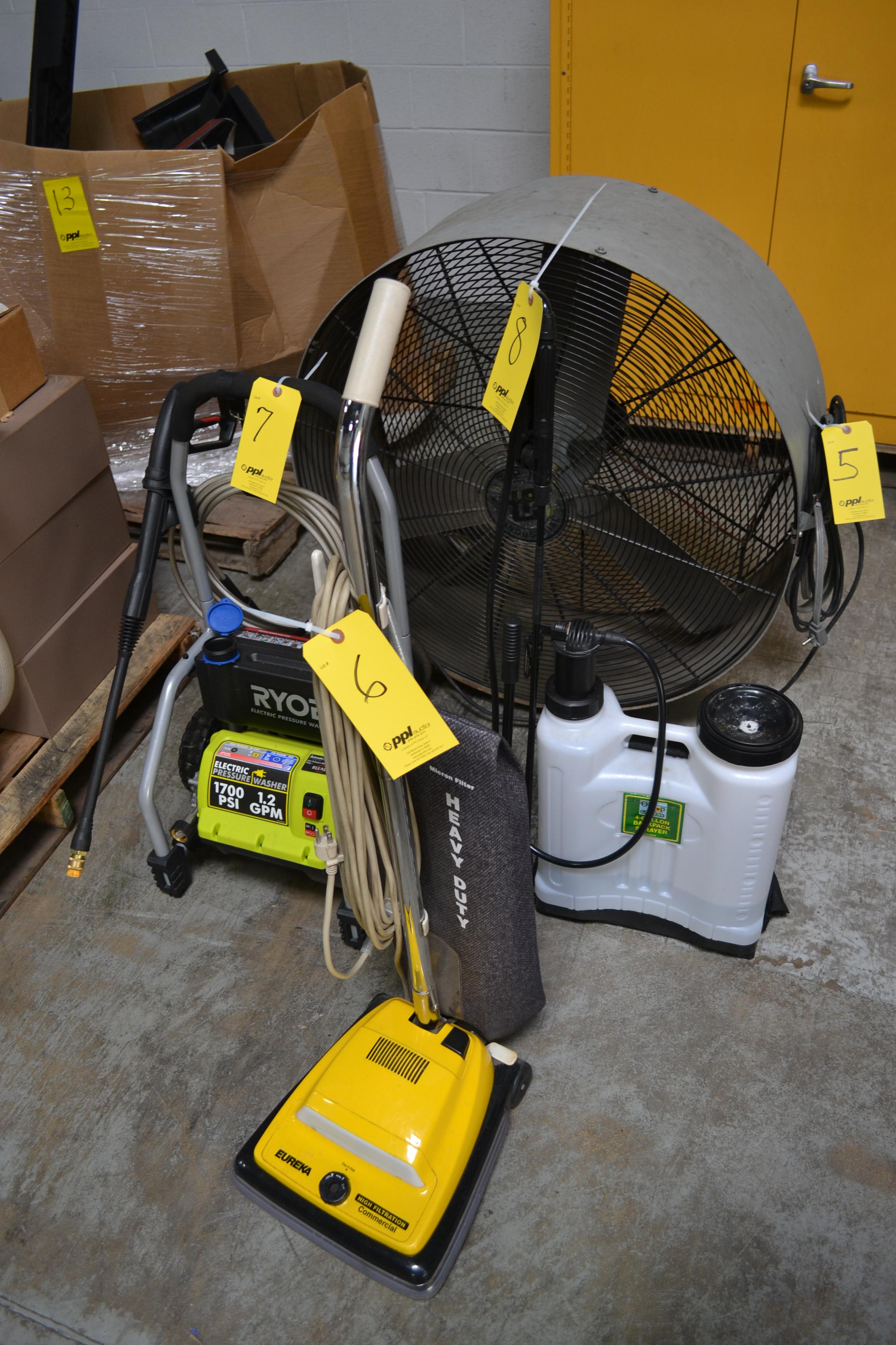 Eureka Commercial Vacuum Cleaner
