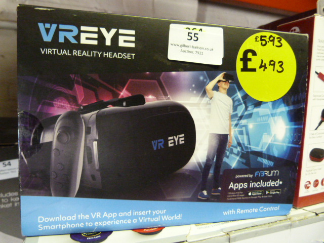 Lot 55 - *VRI Virtual Reality Headset