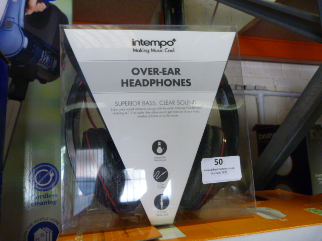 Lot 50 - *Intempo Headphones