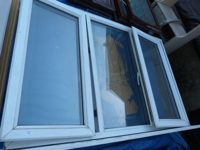 Lot 26 - Triple Glazed Window Frame with Two Opening Window