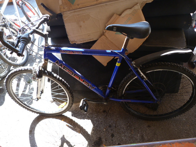 Lot 8 - Cascade Mercury Mountain Bike