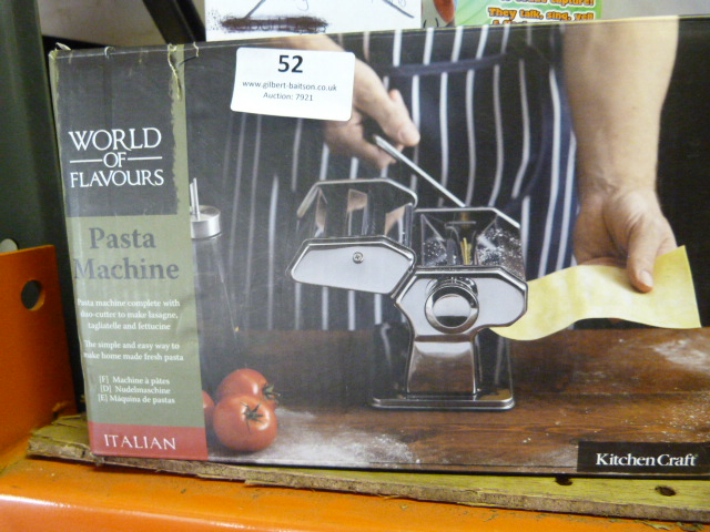 Lot 52 - *World of Flavours Pasta Machine