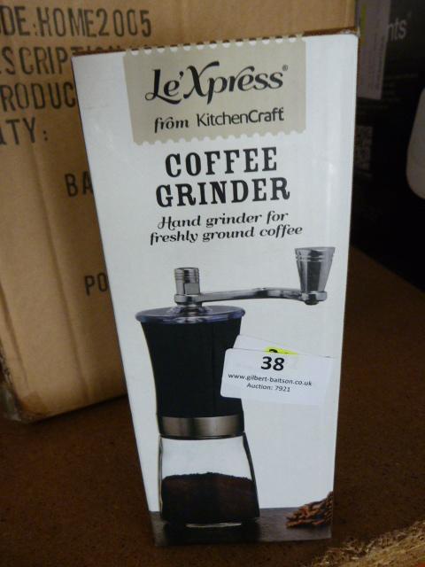 Lot 38 - *Coffee Grinder