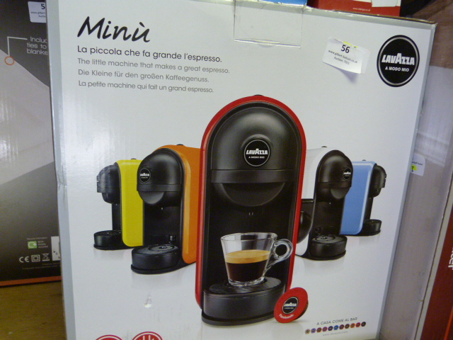 Lot 56 - *Lavazza Espresso Machine