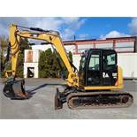 2016 Caterpillar 308E2CR Midi Excavator