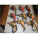 Lot of 9 Drywall Screw Shooters