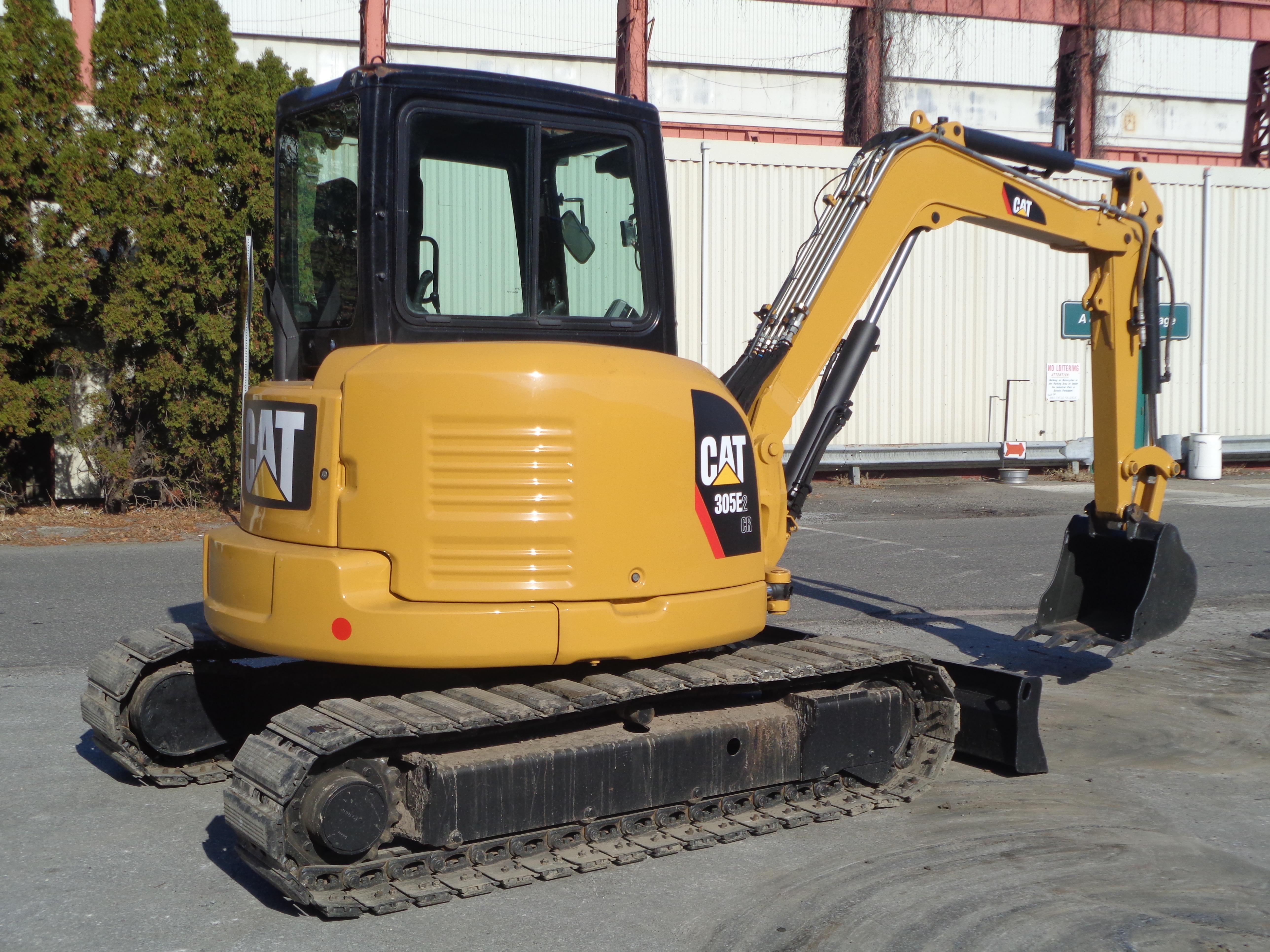 Lot 33 - 2016 Caterpillar 305E2 CR Mini Hydraulic Excavator