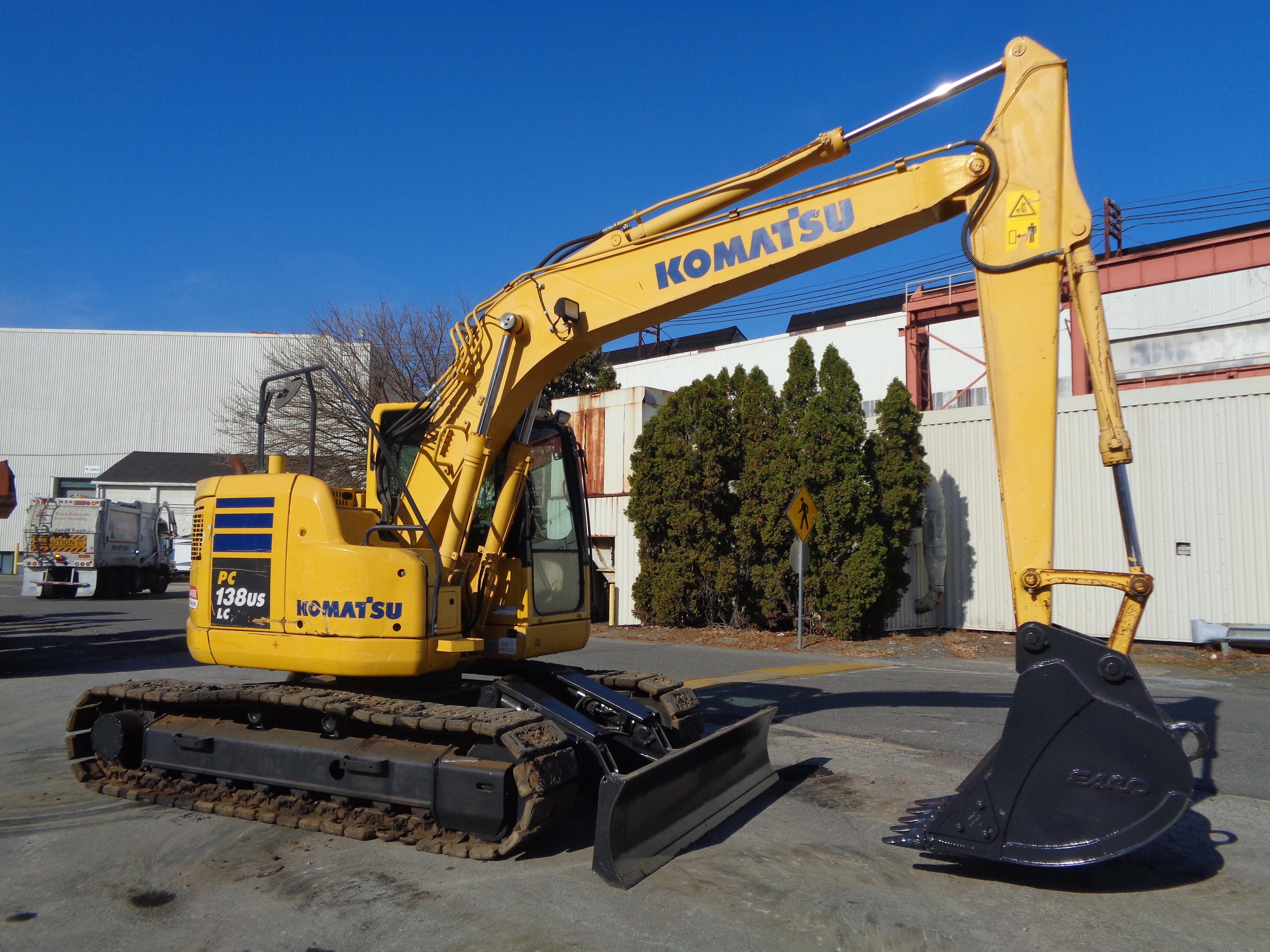 Lot 26 - 2015 Komatsu PC138USLC-10 Excavator