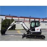 New Unused Bobcat E62 Mini Excavator