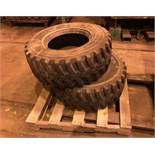 Lot of Two Skid Steer Tires