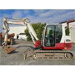 2014 Takeuchi TB285 Excavator