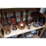 A collection of treen.