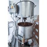 Savage Brothers Double Stacked Chocolate Tempering Systems
