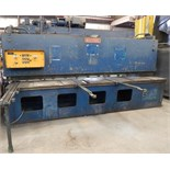 """ALLSTEEL ½-12 HYDRAULIC SHEAR WITH 12' OVERALL CUTTING LENGTH, ½"""" MILD/ 3/8"""" STAINLESS CAPACITY,"""