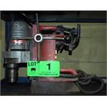 "MILWAUKEE 3/4"" 400 RPM MAG BASE DRILL S/N: 0005027380"