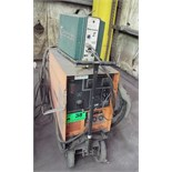 PRO-LINE CV-200 PORTABLE MIG WELDER WITH COBRAMATIC WIRE FEEDER, CABLES AND GUNS S/N: JK581005