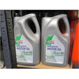 4 x Auto care 4.5l 15w/40 semi synthetic oil. uk d