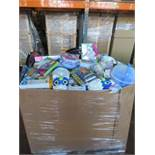 (P3) Large pallet of brand new stock to include: dreamworks trolls activity packs, disney frozen