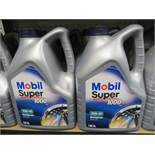 3 x Mobil super 1000 15w-40 multigrade oil 5l.