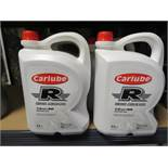 6 x CARLUBE TRIPLE R 4L 15w40 MOTOR OIL. SUITABLE FOR HIGHER MILEAGE PETROL & DIESEL ENGINES.