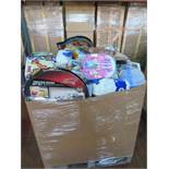 (P2) Large pallet of brand new stock to include: cars craft & dough set, lego 3d backpack,