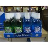 Pallet to contain 1,152 x Dentitex 500ML Mouthwash
