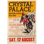 Sport Poster Crystal Palace Motorcycle Racing