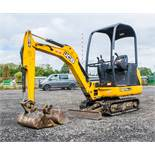JCB 8014 CTS 1.4 tonne rubber tracked mini excavator Year: 2014 S/N: 70475 Recorded Hours: 1611