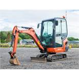 Kubota KX015.4 1.5 tonne rubber tracked mini excavator  Year: 2014 S/N: 57909 Recorded Hours: 1241