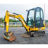 JCB 8016 CTS 1.6 tonne rubber tracked mini excavator Year: 2014 S/N: 71537 Recorded Hours: 1913