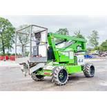 Nifty HR12 4WD diesel/battery articulated boom access platform Year: 2014 S/N: 29136 A644582