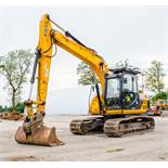 JCB JS 130 LC 13 tonne steel tracked excavator  Year: 2014 S/N: 2134021 Recorded Hours: 7286