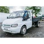 Ford Transit T90 350 single cab tipper Registration Number: ND55 CDV Date of Registration: 24/11/