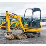 JCB 8014 CTS 1.4 tonne rubber tracked mini excavator  Year: 2014 S/N: 2070505 Recorded Hours: 1417