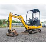JCB 8014 CTS 1.4 tonne rubber tracked mini excavator  Year: 2014 S/N: 70501 Recorded Hours: 1178