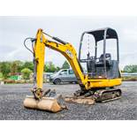 JCB 8014 CTS 1.4 tonne rubber tracked mini excavator Year: 2014 S/N: 70517 Recorded Hours: 1943