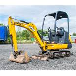 JCB 8014 CTS 1.4 tonne rubber tracked mini excavator Year: 2014 S/N: 770497 Recorded Hours: 1419