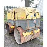 Wacker Neuson RTSC2 diesel driven trench roller Recorded Hours: 638 c/w remote control A605374