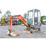 Kubota KX36-3 1.5 tonne rubber tracked mini excavator Year: 2008 S/N: 77962 Recorded Hours: 3772