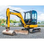 JCB 8030 3 tonne rubber tracked excavator  Year: 2013  S/N: 21867 Recorded hours: 1962 A602994
