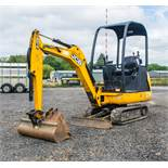 JCB 8014 CTS 1.4 tonne rubber tracked mini excavator  Year: 2014 S/N: 70500 Recorded Hours: 1091