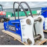 Hirox HD-X30 10 to 15 tonne hydraulic breaker Gassed & pre delivery inspected ** New & unused **