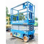 Genie GS1932 battery electric scissor lift access platform Year: 2015 S/N: 18932 Recorded Hours: 109