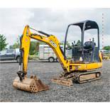 JCB 8014 CTS 1.4 tonne rubber tracked mini excavator  Year: 2014 S/N: 70511 Recorded Hours: 2221